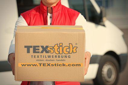 Versandkosten bei TEXstick® TEXTILWERBUNG
