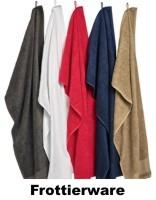 Frottierware - Einfach wohlfühlen - Ob Handtücher, Bademäntel, Golf- oder Sporthandtücher. Große Auswahl an Style und Farben in vielfältiger Qualität zum kleinen Preis.  Frottierware by TEXstick®