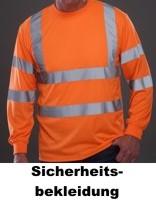Sicherheitsbekleidung - Warnschutzbekleidung und Warnwesten in allen Farben bedruckt oder bestickt mit Ihrem Firmenlogo.