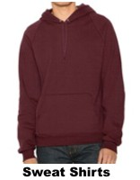 Sweatshirts - Viele Modelle, Farben und unzähligen Ausführungen. Sowohl für Damen, Herren Kinder etc. Als Basic-Sweats, Half-Zip-Sweats, Hooded-Sweats. Baby-Sweats, Polo-Rugby-Shirts, alles ist möglich; sogar mit Stickerei..